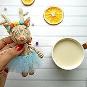 Куклы и игрушки ручной работы. Ярмарка Мастеров - ручная работа Милая Оленя. Handmade.