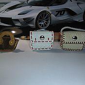 Одежда для кукол ручной работы. Ярмарка Мастеров - ручная работа Кожаная сумочка. Handmade.