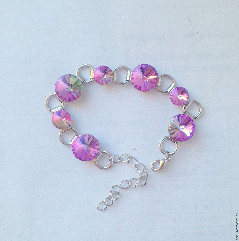 Buy bracelet Swarovski Matching Jewelry Set bracelet on Livemaster