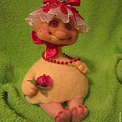 Подарки к праздникам ручной работы. Ярмарка Мастеров - ручная работа Омлеточка в шляпке. Handmade.