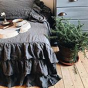Для дома и интерьера handmade. Livemaster - original item Linen blanket. 100% linen. Softened. Eco.. Handmade.