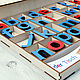 Order German movable alphabet the Montessori on magnets. flowerswood. Livemaster. . Play sets Фото №3