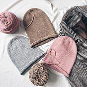 Аксессуары handmade. Livemaster - original item Hat-beanie. Handmade.