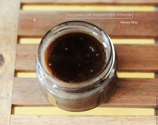 сырой пасечный мед купить, непастеризованный мед, косметический мед купить, маска для лица, ведическая косметика ALHIMIK, Honey Way, Ветиверовый мед, Ветиверовые ванны
