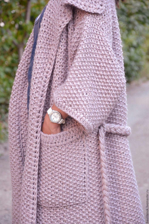 Картинки по запросу вязаное пальто из толстой пряжи