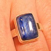 Украшения handmade. Livemaster - original item Ring.kyanite.silver. Handmade.