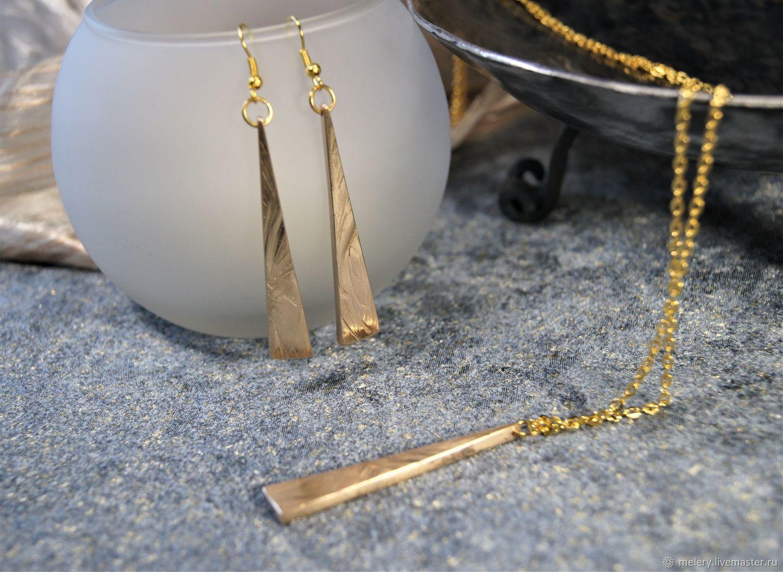 """Jewelry set """"Frosty patterns"""", Jewelry Sets, Zhukovsky,  Фото №1"""