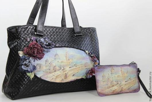 сумочка с видом Санкт-Петербурга