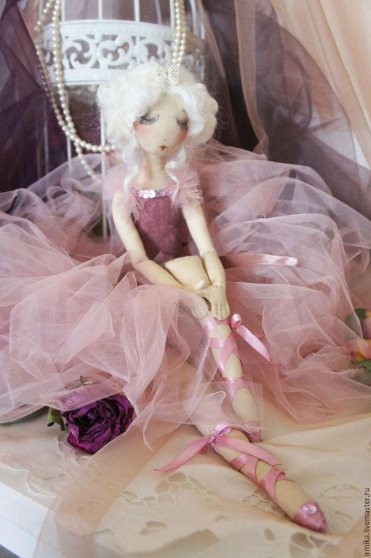 Коллекционные куклы ручной работы. Ярмарка Мастеров - ручная работа. Купить Балерина. Коллекционная кукла. Розовый.. Handmade. Розовый, винтаж