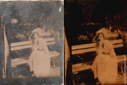 ретуширование фото, цветокоррекция. стоимость работы - 100 руб.