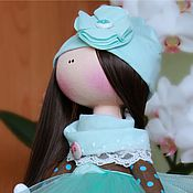 Куклы и игрушки ручной работы. Ярмарка Мастеров - ручная работа РАСПРОДАЖА. Куколка интерьерная. Handmade.