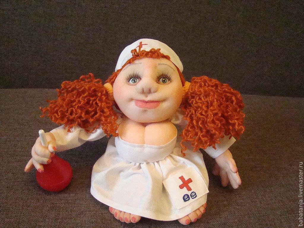 Мастер класс как сделать куклу попика
