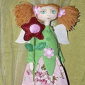 Куклы и игрушки ручной работы. Ярмарка Мастеров - ручная работа Фея цветов. Текстильная кукла. Handmade.