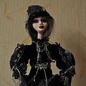 Куклы и игрушки handmade. Livemaster - original item doll Selena - the goddess of the moon in modern times. Handmade.