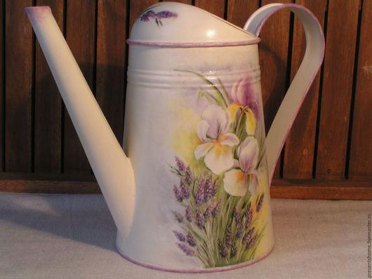 Лейки ручной работы. Ярмарка Мастеров - ручная работа. Купить Горные цветы  Лейка. Handmade. Комбинированный, горные цветы, белый