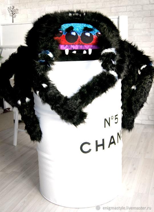 Огромный Паук Антонио, подушка-игрушка обнимашка, Сувениры, Новосибирск, Фото №1