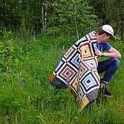 Для дома и интерьера ручной работы. Ярмарка Мастеров - ручная работа Лоскутное одеяло Боцман пэчворк. Handmade.