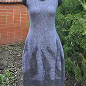 Одежда ручной работы. Ярмарка Мастеров - ручная работа Платье валяное Тюльпан. Handmade.