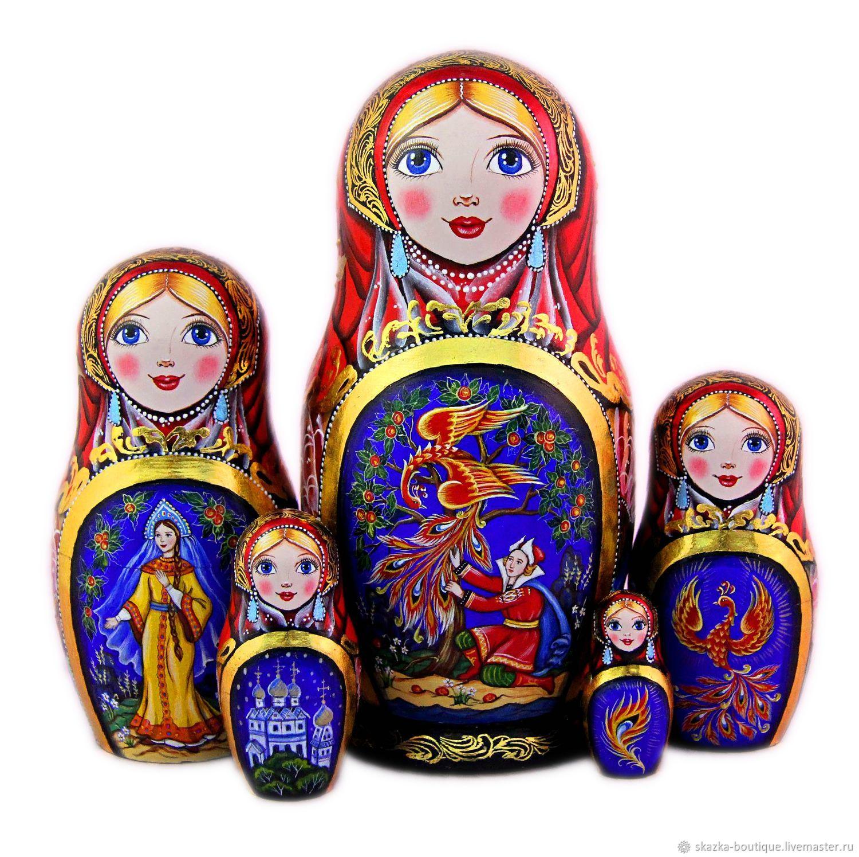 Матрешка Русские сказки, Матрешки, Санкт-Петербург,  Фото №1