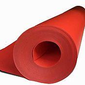 Ткани ручной работы. Ярмарка Мастеров - ручная работа Изолон цветной красный 3 мм. Handmade.