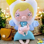 Мягкие игрушки ручной работы. Ярмарка Мастеров - ручная работа Зубная фея - кукла в подарок. Handmade.