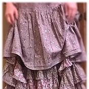 Одежда ручной работы. Ярмарка Мастеров - ручная работа Платье лиловое. Handmade.