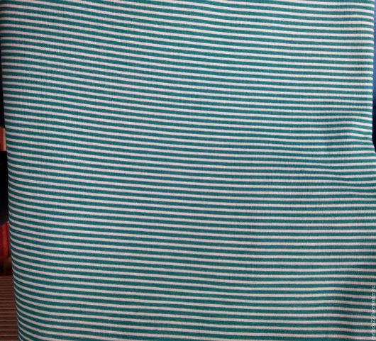 """Шитье ручной работы. Ярмарка Мастеров - ручная работа. Купить Рибана с/л """"Полоса темный ментол"""".. Handmade. Комбинированный, рибана"""