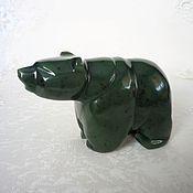 Для дома и интерьера handmade. Livemaster - original item The bear jade. Handmade.