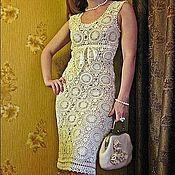 """Одежда ручной работы. Ярмарка Мастеров - ручная работа Платье """"Лимонное мороженое"""". Handmade."""