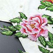Материалы для творчества handmade. Livemaster - original item Peerless embroidery, appliqué, Inspiration. Handmade.
