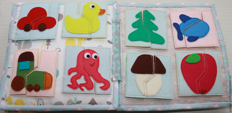 Детские книжки из фетра своими руками фото 64