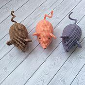 Куклы и игрушки ручной работы. Ярмарка Мастеров - ручная работа Маленькая мышка. Handmade.