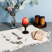 Подарки к праздникам handmade. Livemaster - original item Wooden stand for eggs Siberian Cedar #ES6. Handmade.