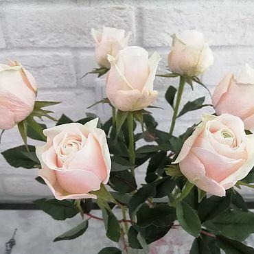 Цветы и флористика ручной работы. Ярмарка Мастеров - ручная работа Букет роз Талея  интерьерный. Handmade.