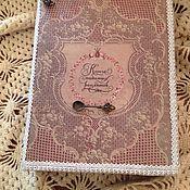 """Для дома и интерьера ручной работы. Ярмарка Мастеров - ручная работа Книга-шкатулка """"Книга полезных рецептов"""". Handmade."""