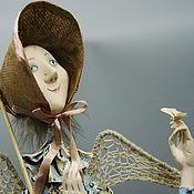 Куклы и игрушки ручной работы. Ярмарка Мастеров - ручная работа ангел и бабочка. Handmade.