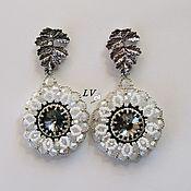 Украшения handmade. Livemaster - original item Jewelry Earrings