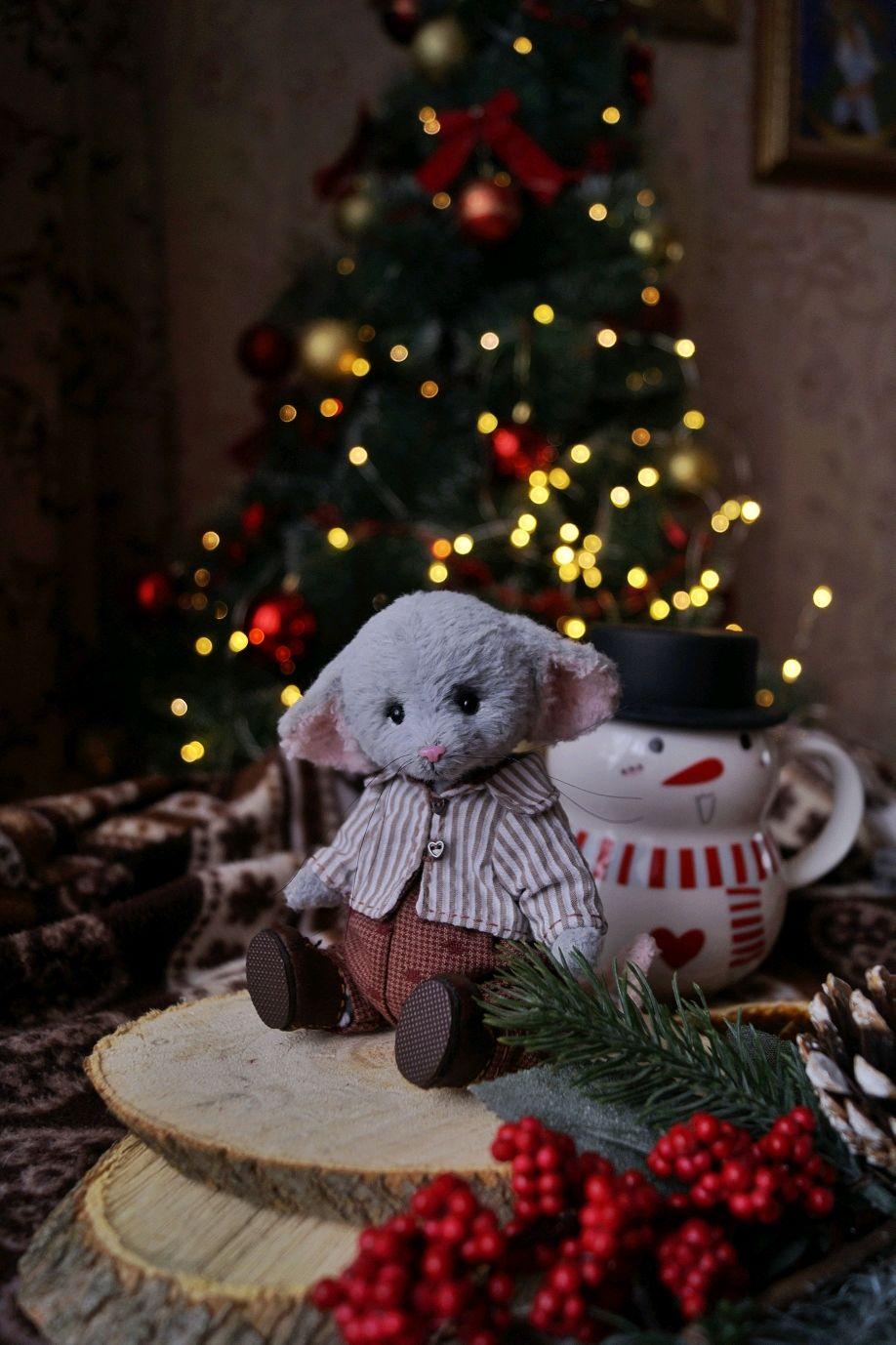 Мышонок тедди. Мышка тедди, Мишки Тедди, Муром,  Фото №1