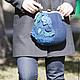 """Женские сумки ручной работы. сумка валяная сумка войлочная сумка с фермуаром """"Ночной сад"""". Юлия  Трушечкина. Ярмарка Мастеров."""