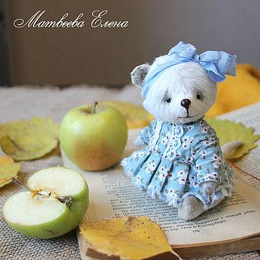 Куклы и игрушки ручной работы. Ярмарка Мастеров - ручная работа Игрушки: Мышка тедди Мила. Handmade.