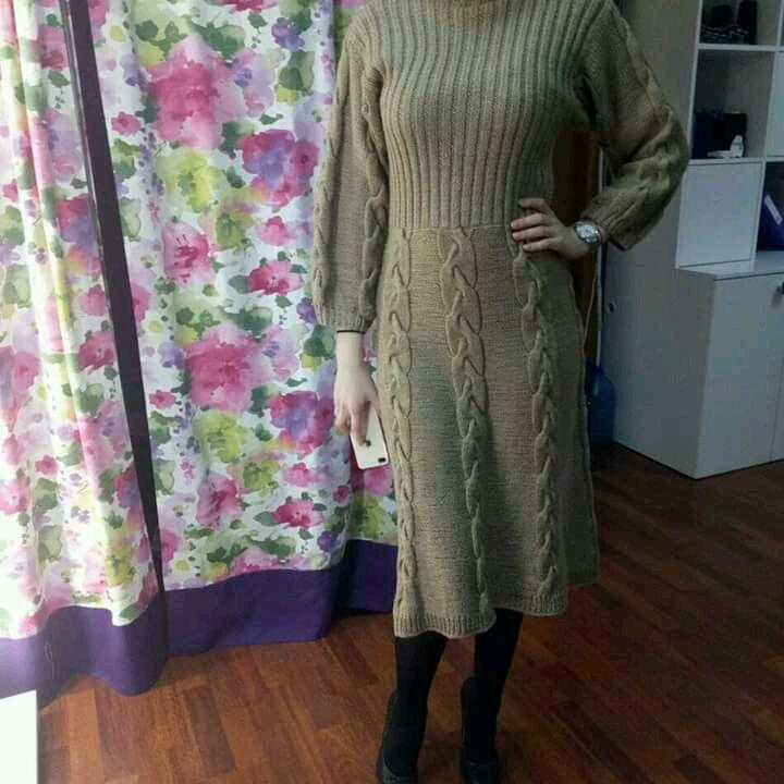 221fe62140c Платья ручной работы. Ярмарка Мастеров - ручная работа. Купить Вязаное  платье