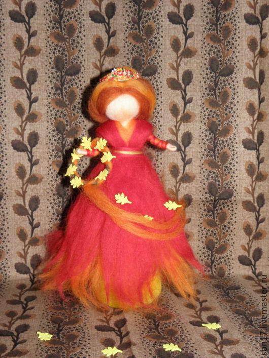 Коллекционные куклы ручной работы. Ярмарка Мастеров - ручная работа. Купить Осень. Из серии времена года.. Handmade.
