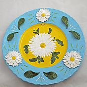 Посуда handmade. Livemaster - original item Dish Daisies. Handmade.