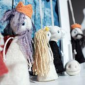 """Куклы и игрушки ручной работы. Ярмарка Мастеров - ручная работа Маленький театр """"Глобус"""". Handmade."""