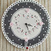 Для дома и интерьера handmade. Livemaster - original item Wooden clock
