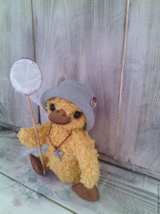 Мишки Тедди ручной работы. Ярмарка Мастеров - ручная работа. Купить Lucky / тедди/утенок. Handmade. Бежевый, купить подарок