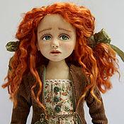 Куклы и игрушки ручной работы. Ярмарка Мастеров - ручная работа Аглая. Авторская коллекционная кукла ручной работы.. Handmade.