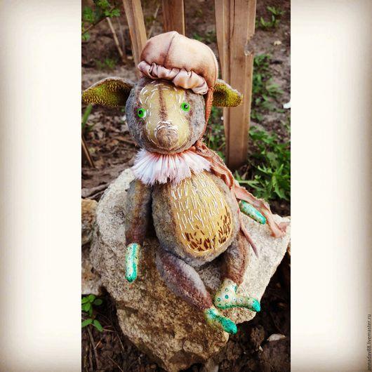 Мишки Тедди ручной работы. Ярмарка Мастеров - ручная работа. Купить Лесной Грибус. Handmade. Серый, грибы, лесной житель