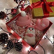 Новогодние сувениры ручной работы. Ярмарка Мастеров - ручная работа Новогодние сувениры: Мыло ручной работы. Handmade.