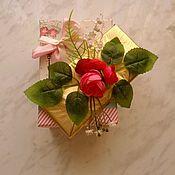 Цветы и флористика ручной работы. Ярмарка Мастеров - ручная работа Весенний букет из конфет шоколад, к 8 марта, коллегам, учителю. Handmade.
